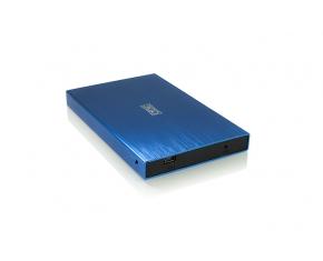 """CAJA EXT. HDD 2.5"""" SATA-USB 3GO AZUL 2013"""