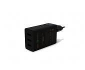 ALIMENTADOR HOGAR USB 1QC+2USB