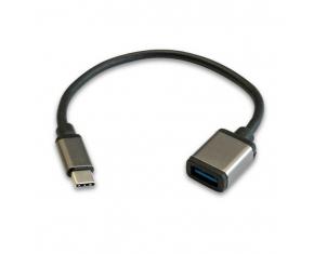 CABLE OTG USB-AH A TYPE-C 3.0 20CM 32+24 AP+AL