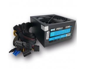 FUENTE ALIM. 600W PPFC (5XSATA+12CM+PCIX6PIN)