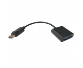 ADAPTADOR  DISPLAYPORT A VGA M/H 15CM 1080P