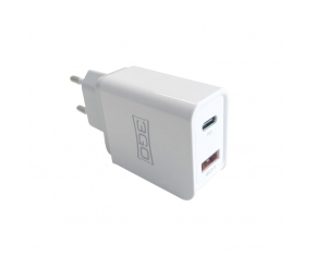 ALIMENTADOR HOGAR USB 1QC3+1USB-C