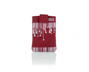 FUNDA SMARTPHONE DRIP RED