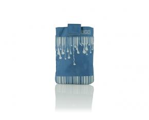 FUNDA SMARTPHONE DRIP BLUE