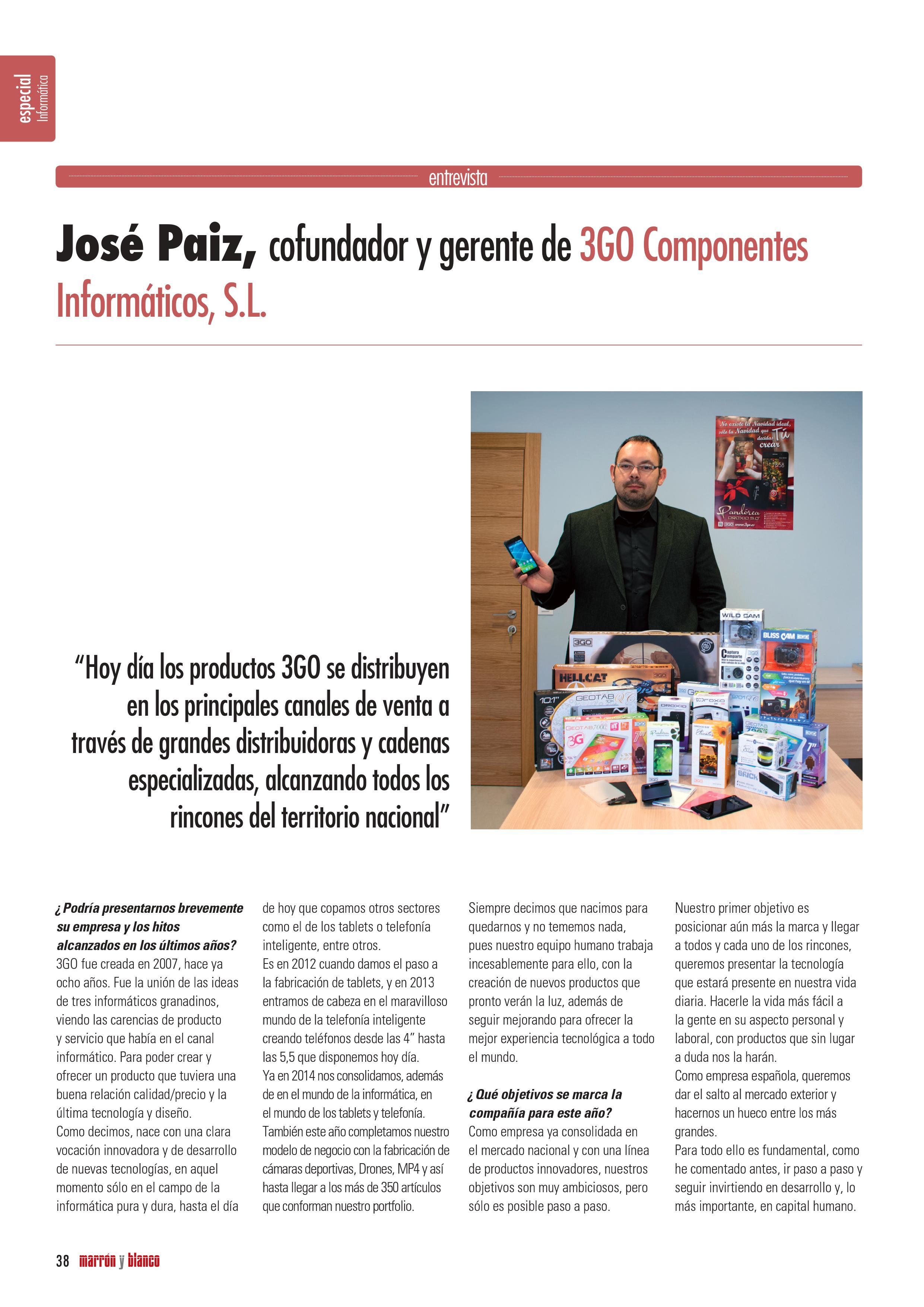 Revista Marrón y Blanco 1